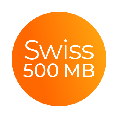 Mobile Swiss 500MB